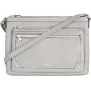 Relic Gray Crossbody Purse